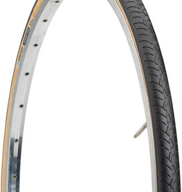 Dimension Dimension Thunder Road Tire - 27 x 1-1/4, Clincher, Wire, Black/Tan, 33tpi