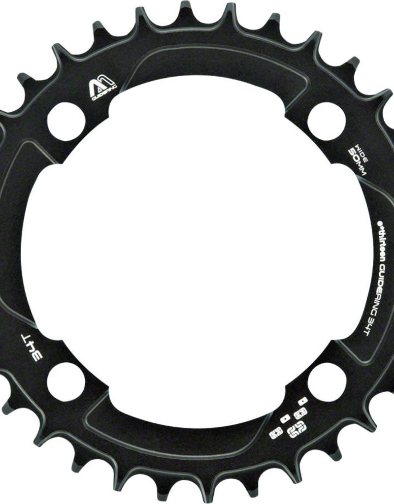 e*thirteen by The Hive e*thirteen M Profile 10/11-speed Guide Ring 34t 104BCD Narrow Wide, Black