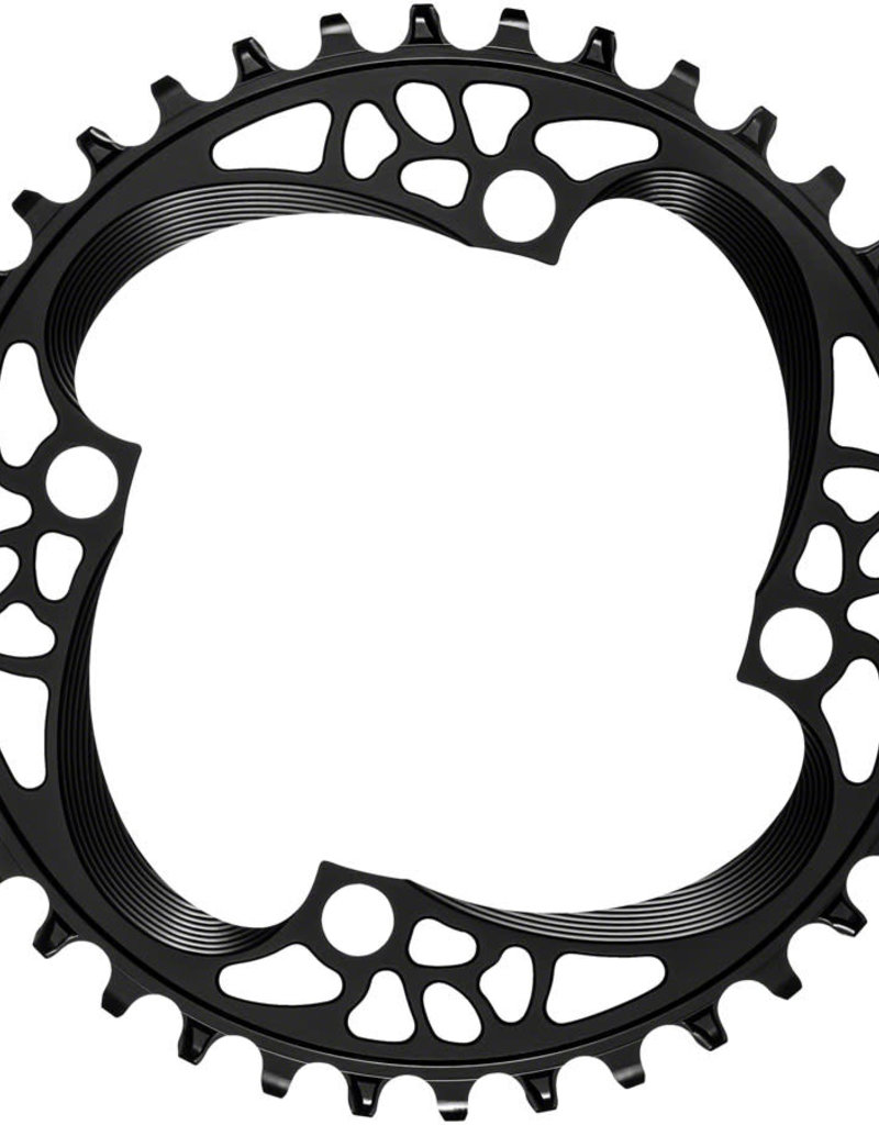 Absolute Black 104 Chainring, 104BCD 36T - Black