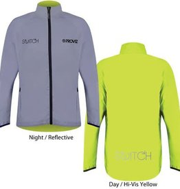 PROVIZ Men's Proviz Switch Cycling Jacket - Reflective/Yellow - XL