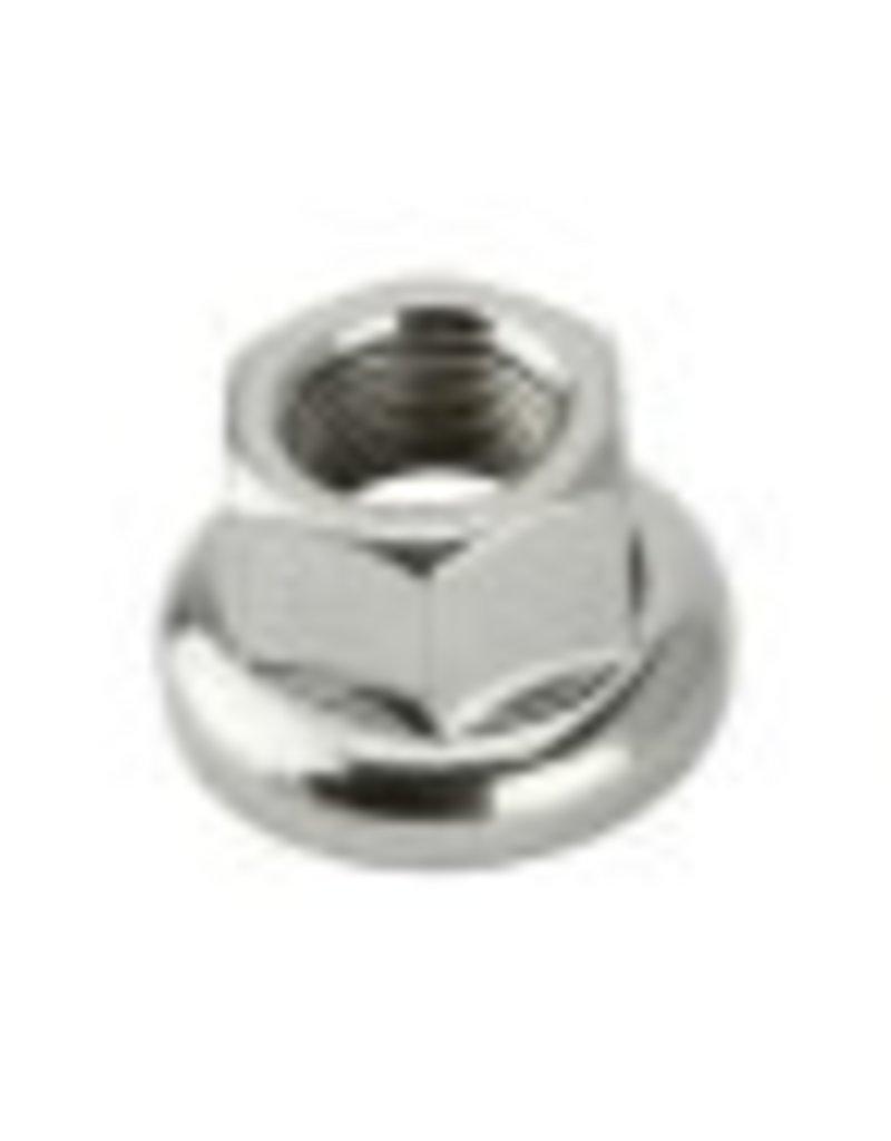 F&R Cycle Inc Track Hub Axle Nut Rear 9x1mm Chrome 10 Count Bag