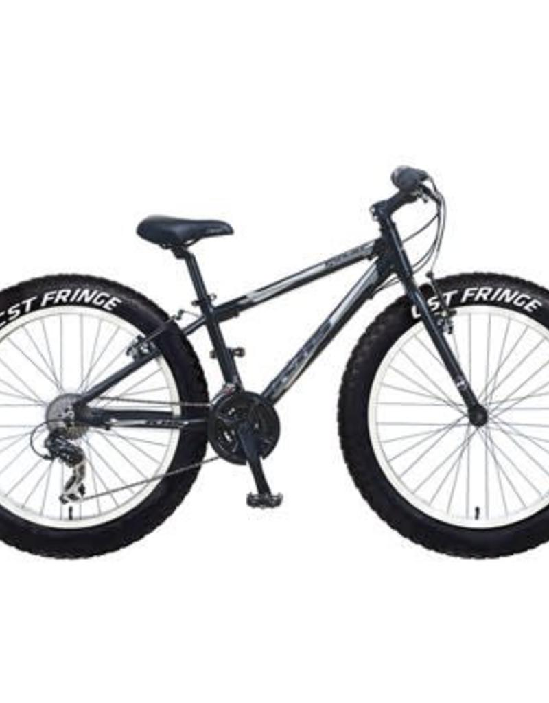 KHS Bicycles SYNTAUR PLUS MTTE BLK 2017BOYS INCLUDES EXTRA 2 KNOBBY TIRES