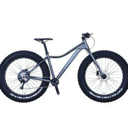 KHS Bicycles 4 SEASON 1000 15 GRAY 2018 WREN FORK