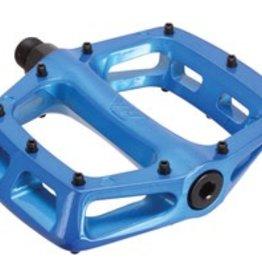 """DMR DMR V8 Pedals, 9/16"""" Alloy Platform Blue"""