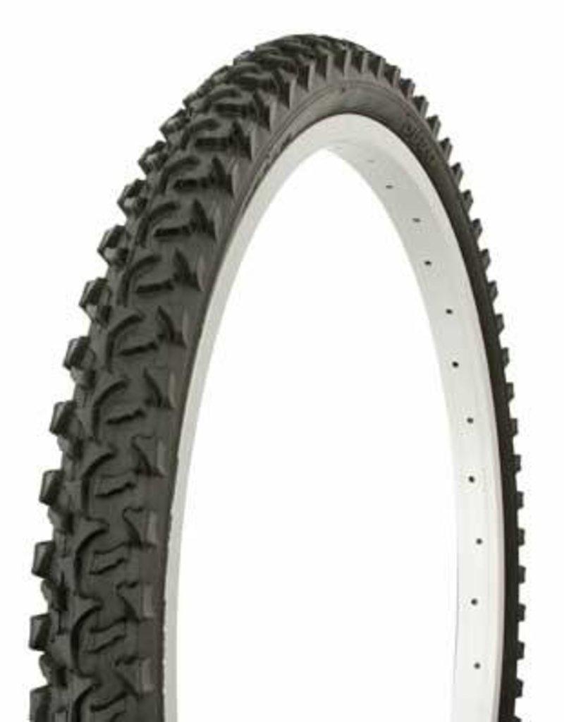 """F&R Cycle Inc Tire Duro 24"""" x 1.95"""" Black/Black Side Wall HF-822"""