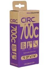 "CIRC Circ Deluxe tube, 700x23-32c+27x1-1/8"", PV(r) 48mm, each"