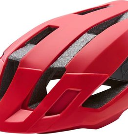 Fox Racing Fox Racing Flux Helmet: Black/Red LG/XL