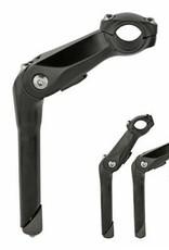 F&R Cycle Inc Adjustable Alloy Stem 22.2mm ATB-180 Black