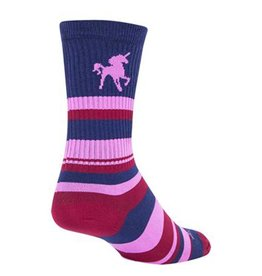 Sockguy Sockguy Pink Unicorn crew socks 5-9