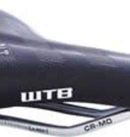 WTB WTB Volt Pro 142 Saddle: CroMo Rails, Black/White
