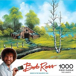 Other Puzzle - Bob Ross - Roadside Barn 1000 pieces