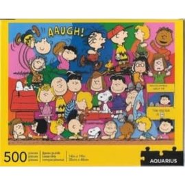 Aquarius Puzzle - Peanuts - Aaugh! Characters 500 pieces