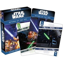 Usaopoly Playing Cards - Star Wars - Return of the Jedi