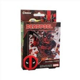 Paladone Jeu de cartes - Marvel - Deadpool avec Boîte en Métal