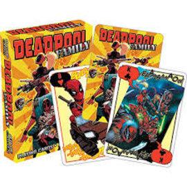 Aquarius Jeu de cartes - Marvel - Famille Deadpool