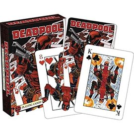 Aquarius Playing Cards - Marvel - Deadpool Mercenary
