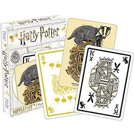 Aquarius Playing Cards - Harry Potter - Hufflepuff Crest
