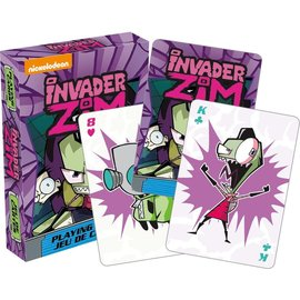 Aquarius Jeu de cartes - Nickelodeon - Invader Zim