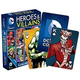 Aquarius Playing Cards - DC Comics - Heroes and Villains