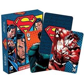 Aquarius Playing Cards - DC Comics - Superman Collage