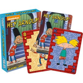 Aquarius Playing Cards - Nickelodeon - Hey Arnold!