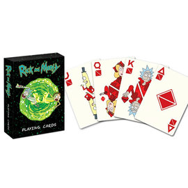 Usaopoly Playing Cards - Rick and Morty - Portal