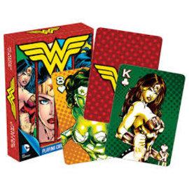Aquarius Playing Cards - DC Comics - Wonder Woman Collage