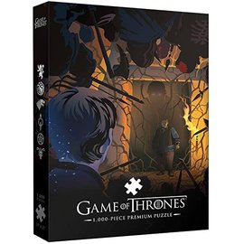 Other Casse-tête - Game of Thrones - Hold the door Deluxe 1000 pièces