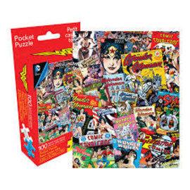 Aquarius Puzzle - DC Comics - Wonder Woman Comics 100 pieces