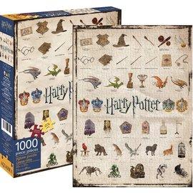 Aquarius Casse-tête - Harry Potter - Icônes du Monde des Sorciers 1000 pièces