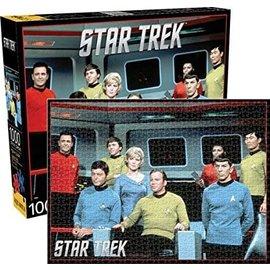 Aquarius Puzzle - Star Trek - Captain Kirk and Crew 1000 pieces