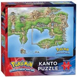 Usaopoly Puzzle - Pokemon - Kanto Map 550 pieces