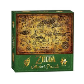 Usaopoly Casse-tête - The Legend of Zelda - Carte Sépia 550 pièces