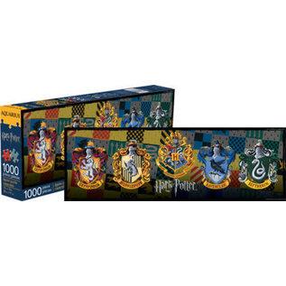 Aquarius Casse-tête - Harry Potter - 5 Blasons de Poudlard 1000 pièces