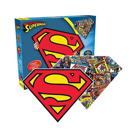 Aquarius Casse-tête - DC Comics - Superman 2 en 1 Recto Verso 600 pièces