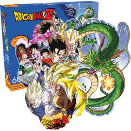 Aquarius Casse-tête - Funimation - Dragon Ball Z Shenron et Personnages 2 en 1 Recto Verso 600 pièces