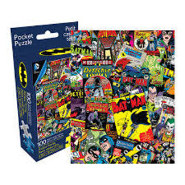 Aquarius Puzzle - DC Comics - Batman Comics Collage 100 pieces