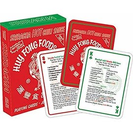 Aquarius Playing Cards - Huy Fong Foods Inc. - Sriracha Hot Chili Sauce Recipes