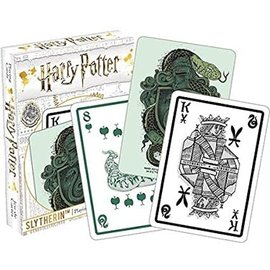 Aquarius Jeu de cartes - Harry Potter - Blason Serpentard