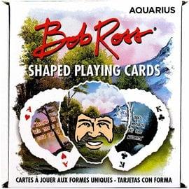 Aquarius Jeu de cartes - Bob Ross - Joy of Painting en Forme de Tête