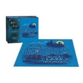 Usaopoly Puzzle - Harry Potter - First Year Travel Across the Black Lake 550 pieces