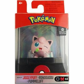Wicked Cool Toys Figurine - Pokémon -  Select Collection Jigglypuff 2""