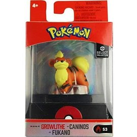 Wicked Cool Toys Figurine - Pokémon -  Select Collection Growlithe 2""