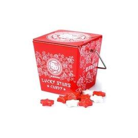 Boston America Corp Bonbons - Sanrio - Hello Kitty Étoiles Chanceuses Saveur Sucrée Boîte en métal