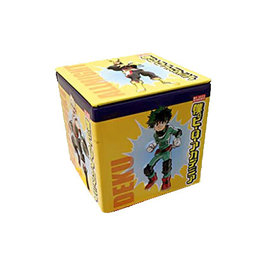 Boston America Corp Bonbons - My Hero Academia - Fraise Limonade Boîte en métal