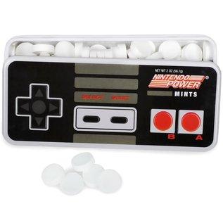 Boston America Corp Bonbons - Nintendo - Manette Entertainment System Menthe Boîte en métal