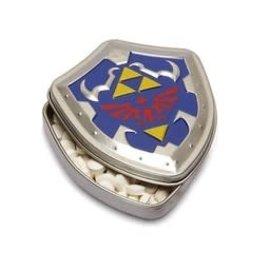 Boston America Corp Bonbons - The Legend of Zelda - Bouclier d'Hyrule Menthe Boîte en métal