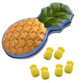 Boston America Corp Bonbons - Bob L'Éponge - Ananas Boîte en métal