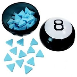 Boston America Corp Candy - Magic 8 Ball - Blue Raspberry Tin