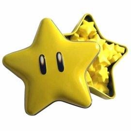 Boston America Corp Bonbons - Nintendo - Super Mario: Super Étoile Sucrée Boîte en métal